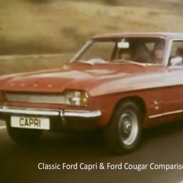 Classic Ford Capri & Ford Cougar Comparison