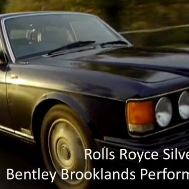 Rolls Royce Silver Dawn & Bentley Brooklands Performance Test at Oulton Park