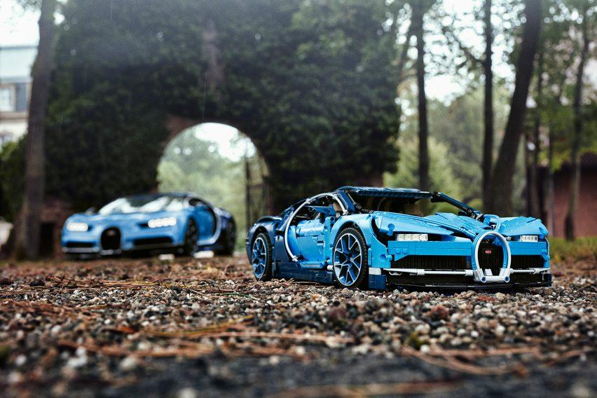 The Lego Technic Bugatti Chiron Men Motors